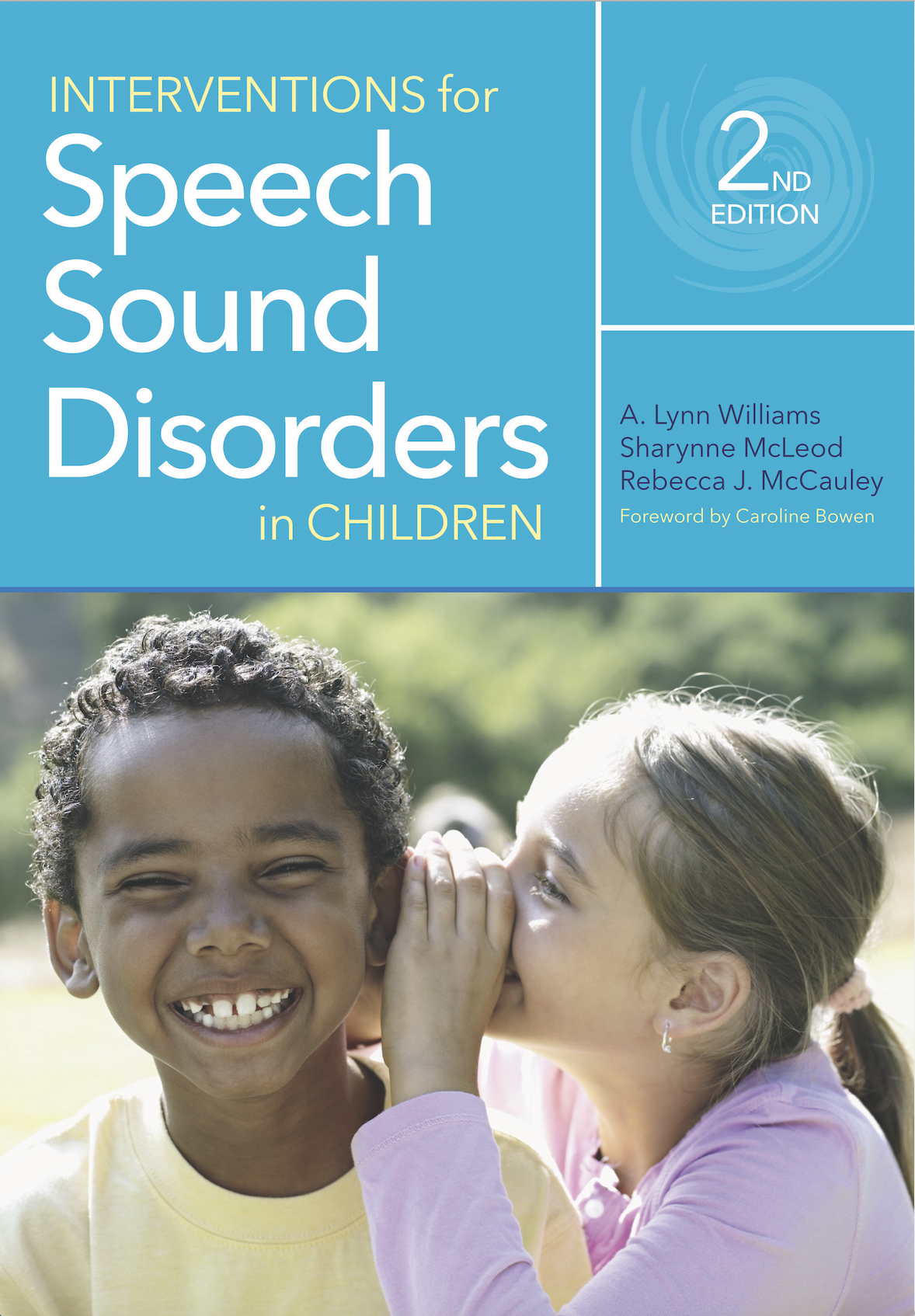 Interventions for Speech Sound Disorders in Children, 2nd Edition